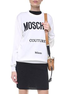 Moschino - Moschino Couture white virgin wool pullover