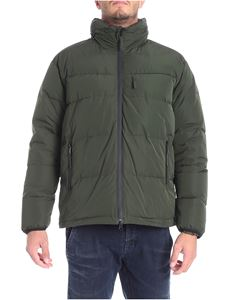 Aspesi - Tic Tec green down jacket
