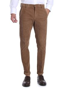Dondup - Brown corduroy trousers