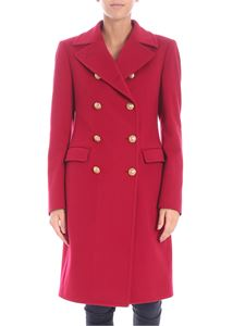 Tagliatore - Red coat with metal buttons