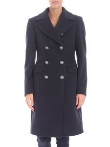 Tagliatore - Grey coat with metal buttons