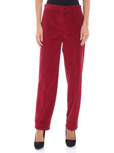 Aspesi - Red corduroy trousers