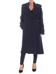 Dondup - Semi-lined double-breasted coat