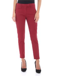 Dondup - Chino Perfect red trousers