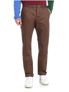 Nine in the morning - Brown slash pockets trousers