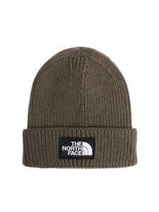 The North Face - Green beanie with logo