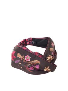 Salvatore Ferragamo - Tree of Life printed headband