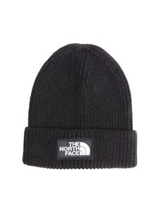 The North Face - Black beanie with logo