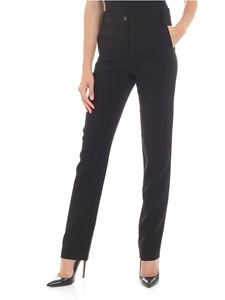 Emporio Armani - Black trousers with belt loops