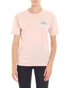 Stella McCartney - Pink Patch logo T-shirt