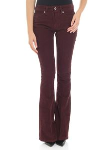 Dondup - Akon wine red trousers