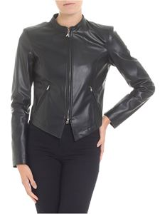 Patrizia Pepe - Black eco-leather jacket