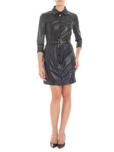 Patrizia Pepe - Unlined black dress with buttons
