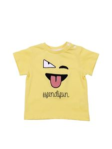 Fendi Jr - Yellow Fendifun T-shirt