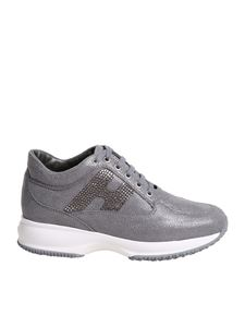 Hogan - Interactive grey sneakers