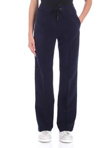 Pence - Felicia fleece blue trousers