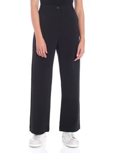 Nine in the morning - Black wide trousers