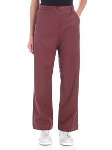 Nine in the morning - Wide red trousers