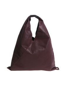 MM6 by Maison Martin Margiela - Borsa a spalla color prugna
