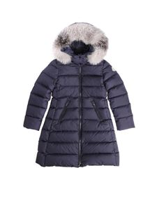 Moncler Jr - Abelle blue down jacket