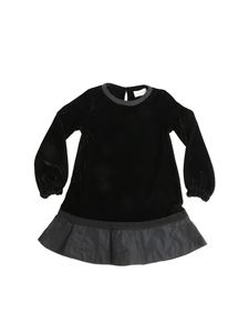 Moncler Jr - Black velvet dress