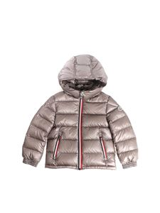 Moncler Jr - Gastonet grey down jacket