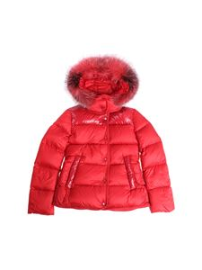 Moncler Jr - Armandine red down jacket
