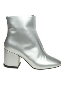 Kenzo - Daria silver ankle boots