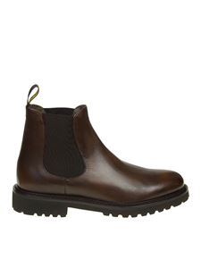Doucal's - Chelsea brown ankle boots