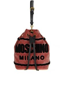 Moschino - Antique pink color bucket bag