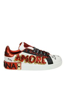 Dolce & Gabbana - Portofino sneakers with sequins