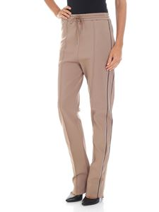 Joseph - Camel trousers with blue details