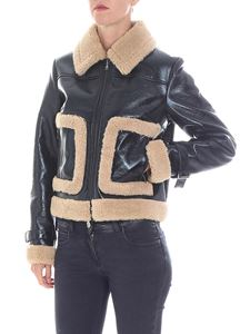 Stand Official - Jonna jacket in black eco-leather