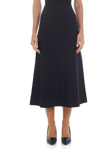 Theory - Black midi skirt