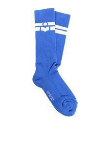 "Isabel Marant - Blue ""Vibe"" socks"