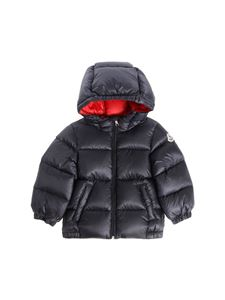 "Moncler Jr - ""New Macaire"" blue down jacket"