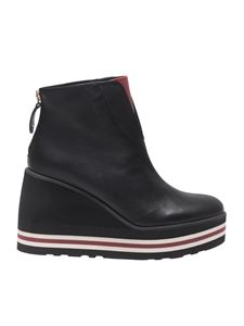 Palomitas by Paloma Barceló - Black leather ankle boots