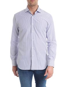 Barba - White and blue striped shirt