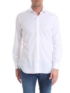 Barba - White shirt with French collar