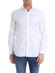Barba - Embroidered white shirt