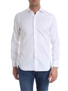 Barba - White shirt with pleats