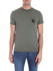 CP Company - Sage green t-shirt with patch pocket