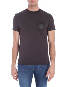 CP Company - Grey t-shirt with patch pocket
