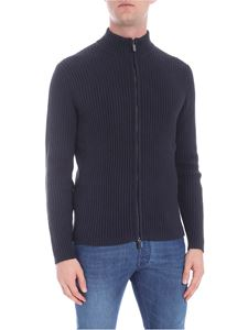 RRD Roberto Ricci Designs - Blue knitted cardigan