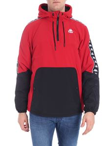"Kappa - ""222 Amaul Banda"" red and black down jacket"