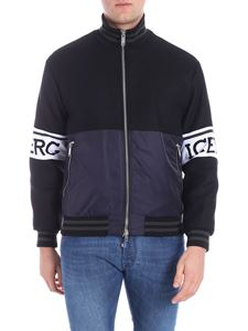 Iceberg - Black bomber jacket with logo