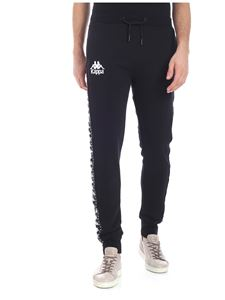 "Kappa - ""Authentic Amsag"" black trousers"