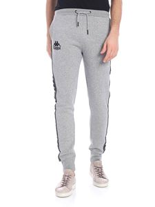 "Kappa - Pantalone ""Authentic Amsag"" grigio"