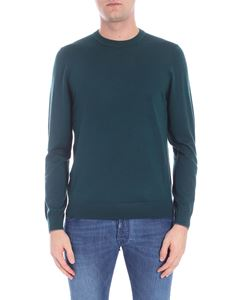 PS by Paul Smith - Dark green pullover with logo detail