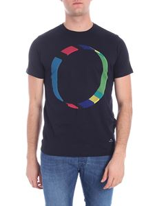 PS by Paul Smith - Blue t-shirt with logo
